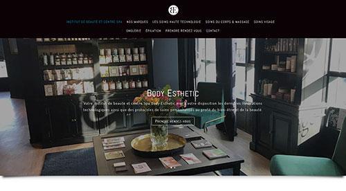 Création de site inertnet bodyesthetic.fr par network n web agence web pertuis