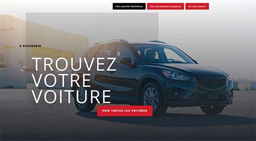 Création de site inertnet  parc auto n7 par nnw agence web pertuis
