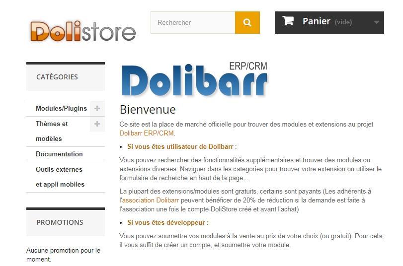 Dolibarr - ERP et CRM Gratuit