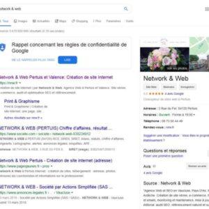 Création de votre page google my business