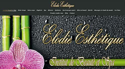 créarion site internet par nnw elodie esthétique
