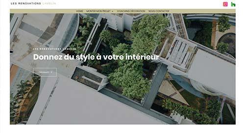 Création de site inertnet  petales de rose par NNW agence web Pertuis & Valence