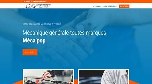 créarion site internet par nnw  mecapop