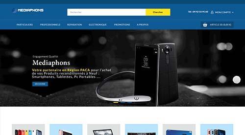 Création de site inertnet  iledebeaute.fr par nnw agence web pertuis
