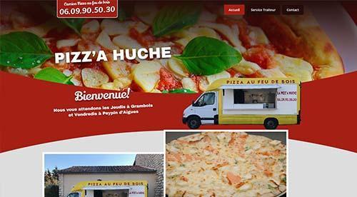 creation de site internet par nnw pizza huche